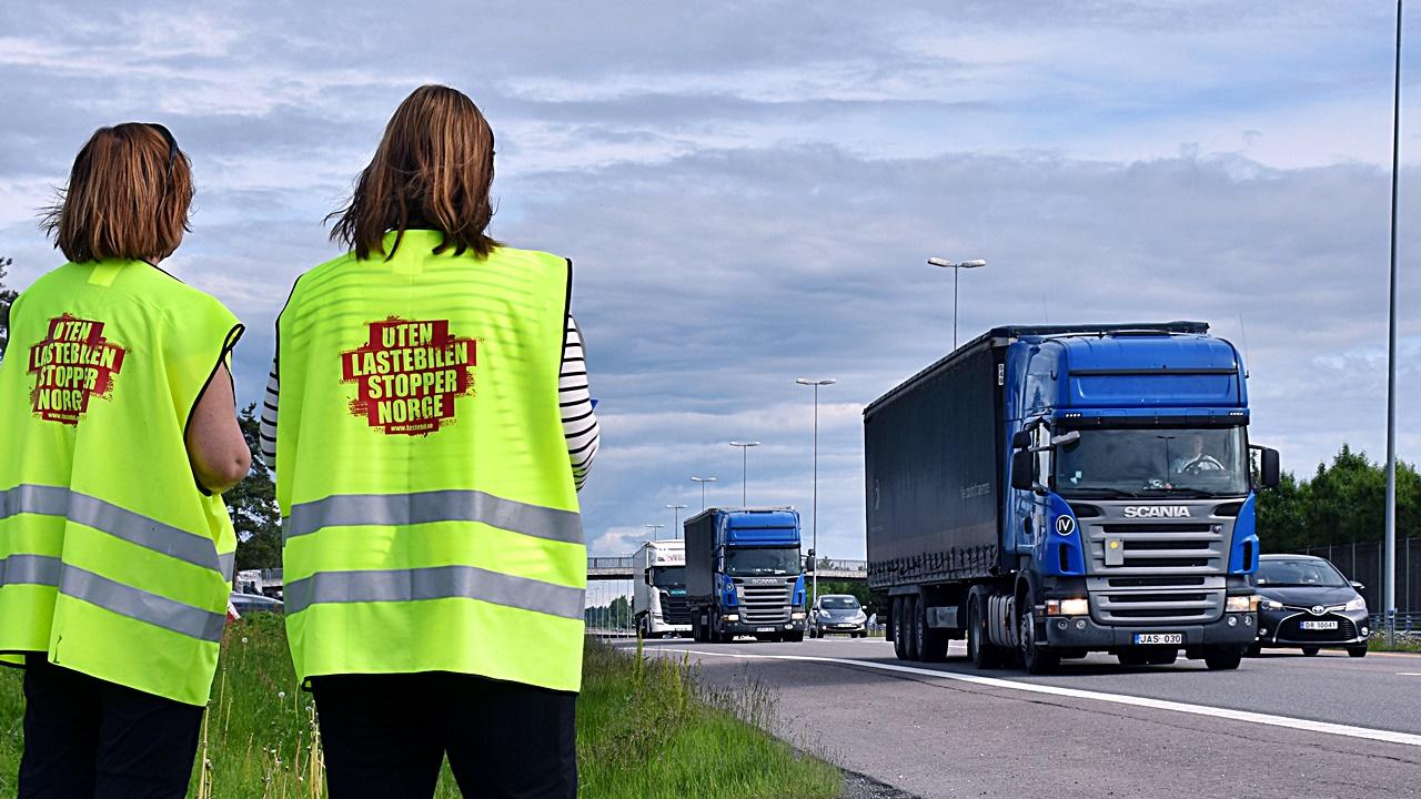 Telleaksjon - Kløfta -Lastebileierforbundet -Kløfta - 2017