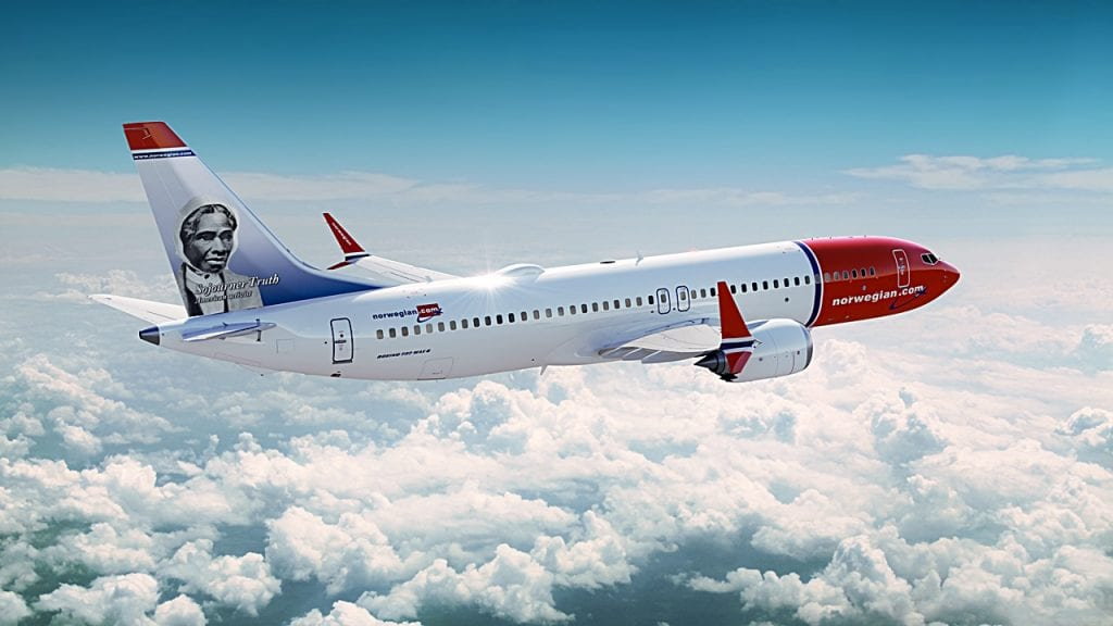 Norwegian - Boeing 737-8 MAX Sojourney Truth - 2017