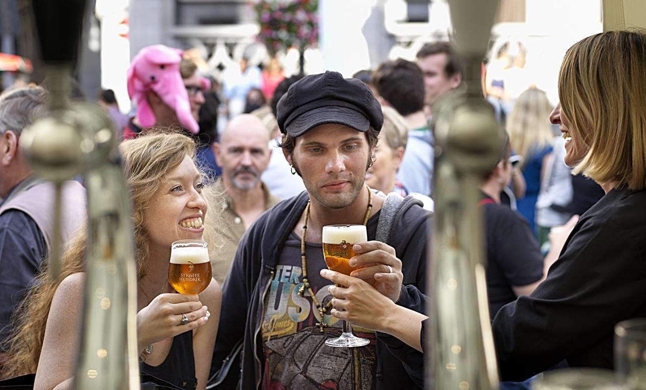 Beer Festival - Ølfestival - Antwerpen - Flandern - Belgia