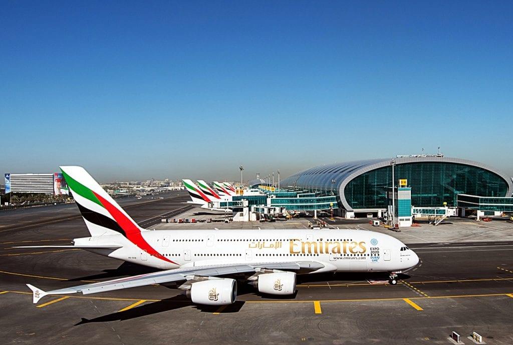 Emirates - Airbus A380 - Dubai Airport
