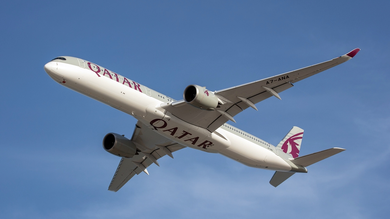 Qatar Airways - Airbus A 350-1000 - Doha - 2018