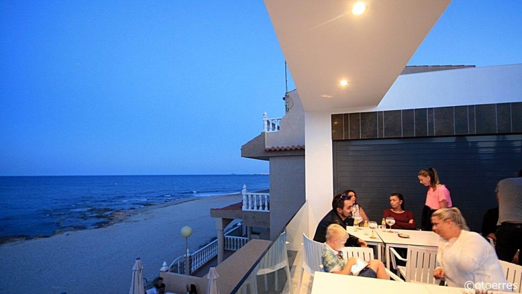 Pirata Tiopepe- Strandbar - Restaurant - Playa Las Villas - Torre de la Horadada - Costa Blanca - Spania