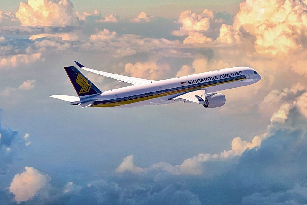 Singapore Airlines - Airbus A 350