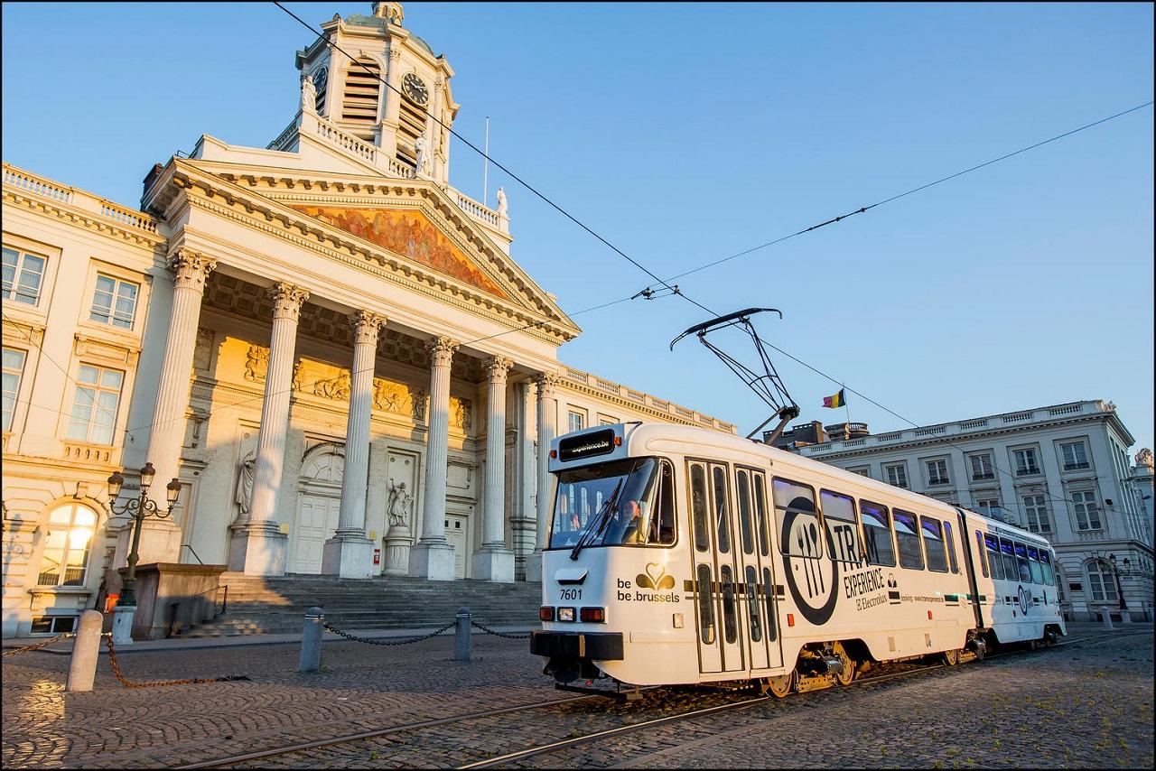 Tram Experience - Sporvogn - restauarnt - Brüssel - Belgia