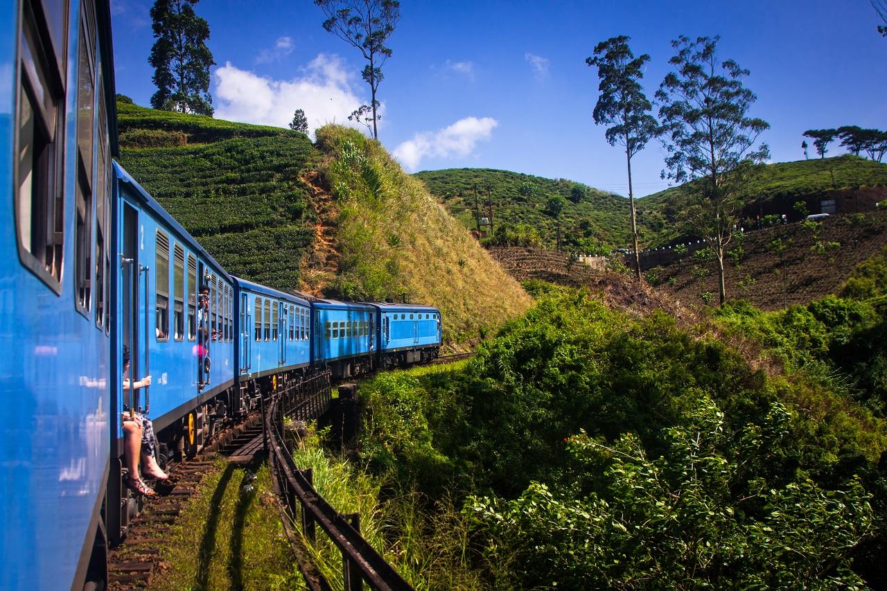 Apollo - tog - SriLanka - Te-plantasjer