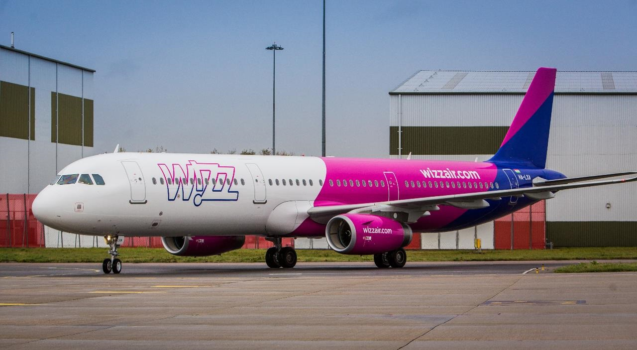 Wizz Air - Airbus A 320 - New livery - 2018