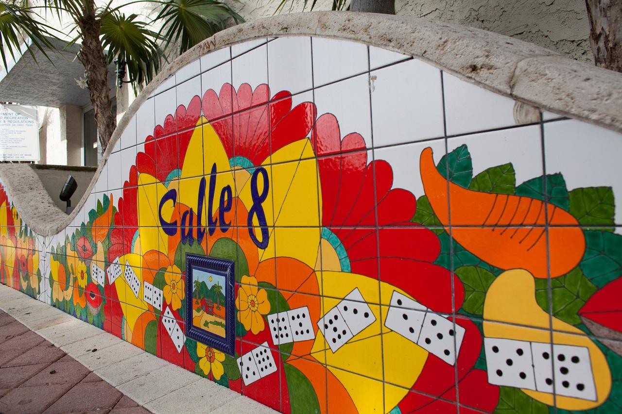 Miami Little Havana Domino-Park-Mosaic-Mural
