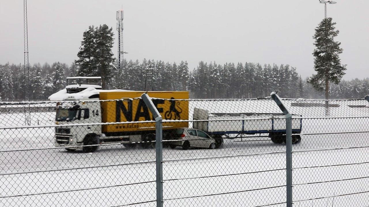 Vogntog - Personbil - Vinterføre - ulykke - testbane - NAF