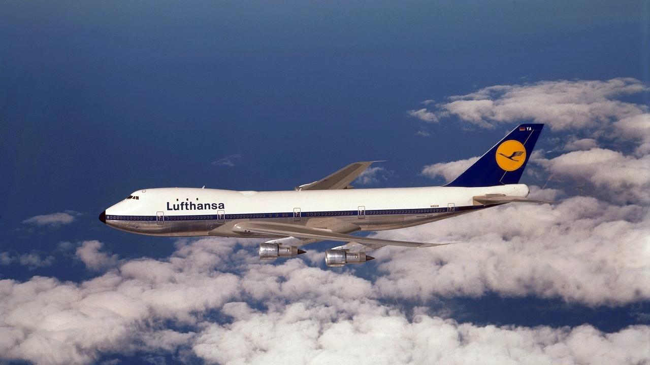 Lufthansa Boeing 747-10 - Photo: Boeing / Lufthansa-Bildarchiv 1970