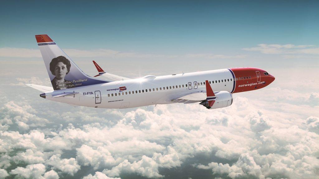 Norwegian - Boeing 737MAX - Halehelt - Emeline Pankhurst