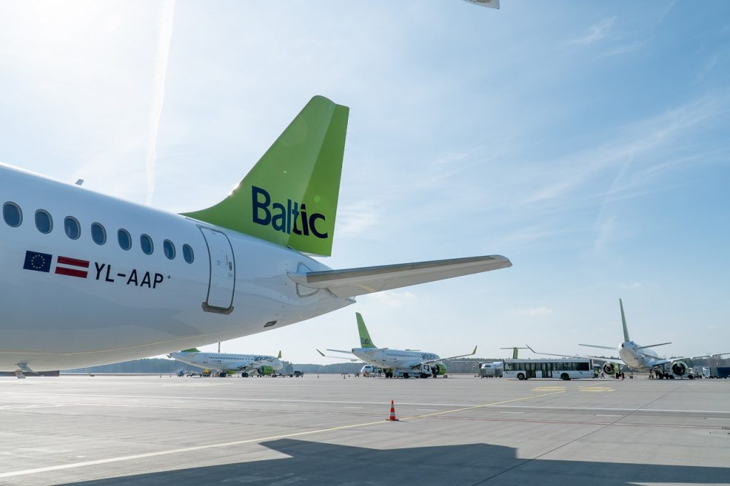 airbaltic - Airbus A220-300 nr. 16 - Riga -Latvia - Mars 2019