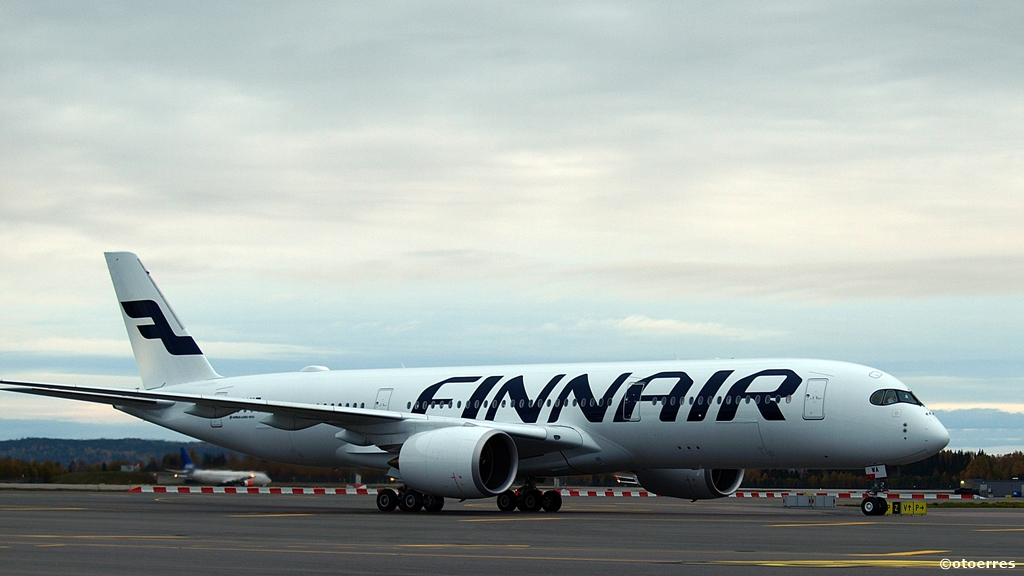 Finnair - Airbus A 350 XWB - Oslo lufthavn - Gardermoen