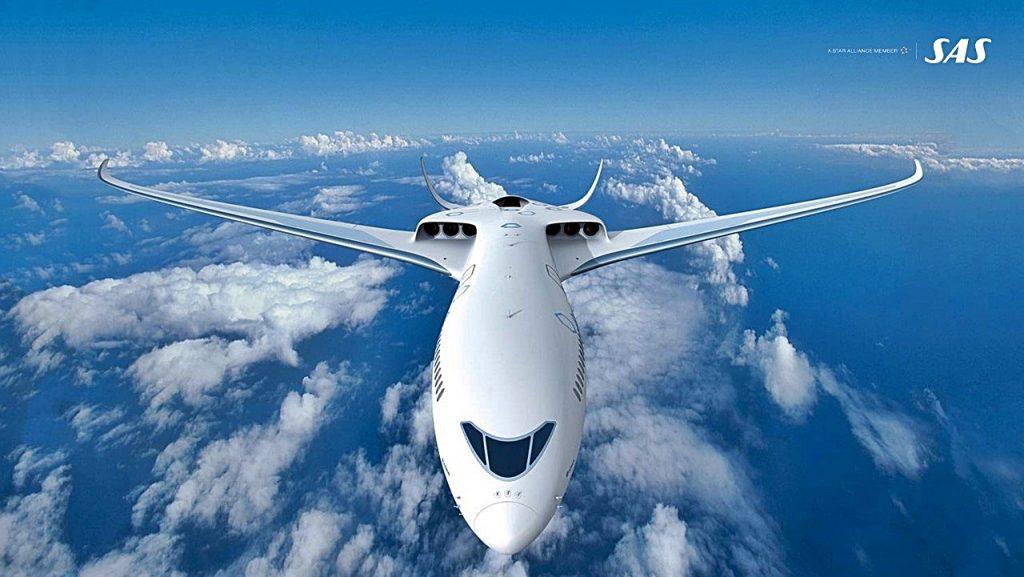 Airbus - SAS - Elektrisk - Hybrid - Passasjerfly - Illustrasjon