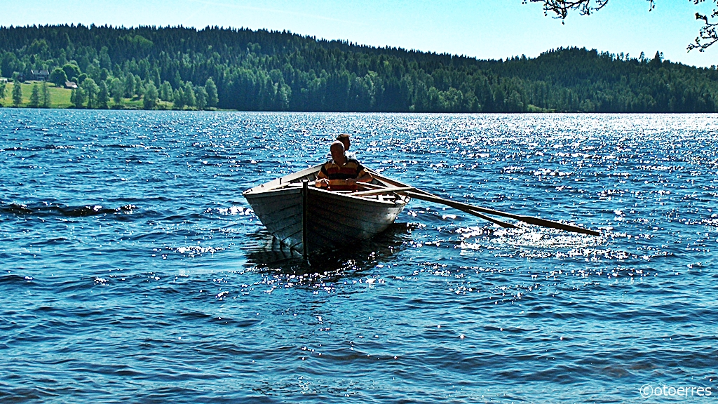 Robåt - Stenebynäs - Iväg - Dalsland - Vest-Sverige