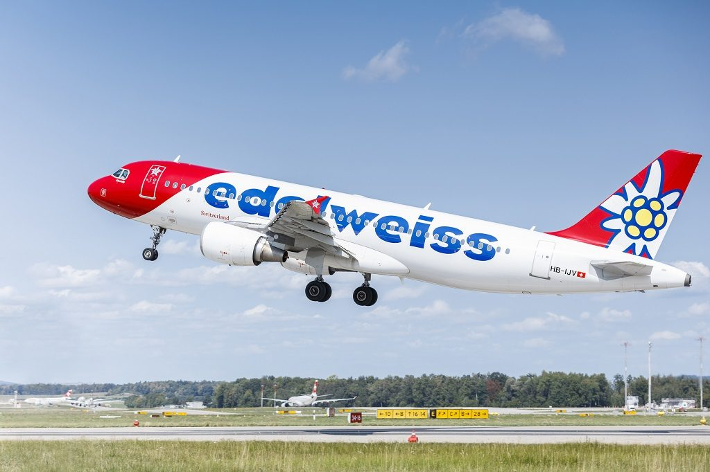 Edelweiss - Airbus A 320 family