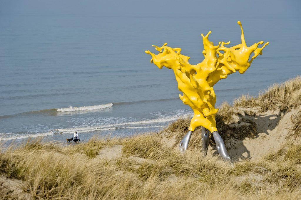 Beaufort sculpture - park - Middelkerke - Flandern - Belgia