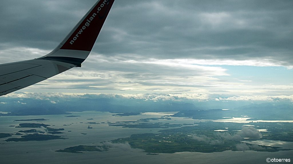 Norwegian - Boeing 737-800 - Randaberg - Ryfylkebassenget