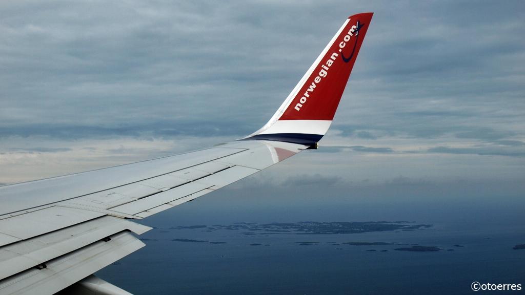 Norwegian - Boeing 737-800 - Boknafjorden - Kvitsøy