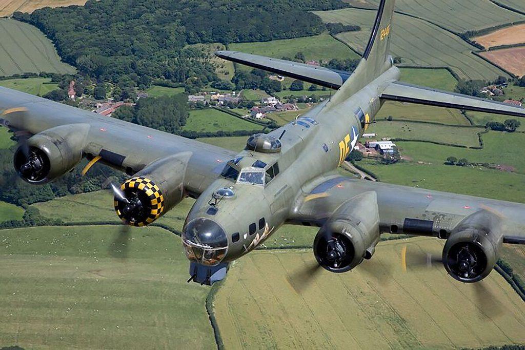 Sally B - B 17 - bombefly - Roskilde Airshow