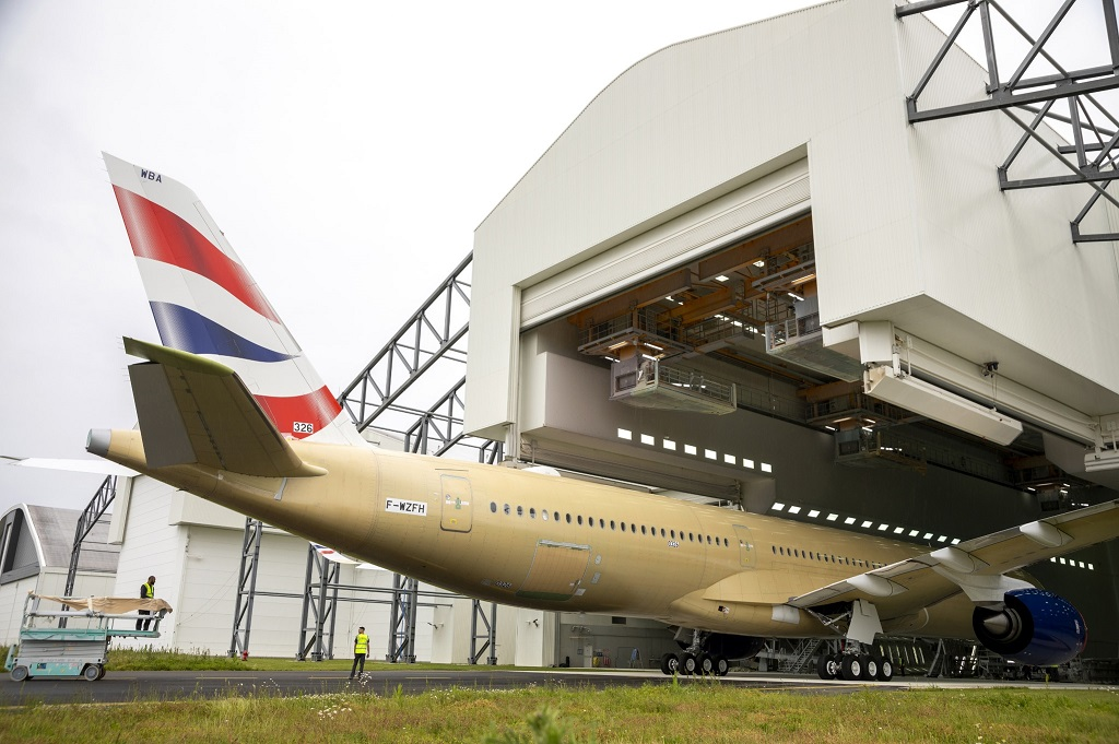 British Airways - Airbus A 350-1000 - Lakkeringshall - Toulouse - Facebook