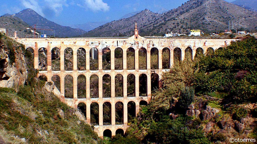 Romersk Akvedukt - Nerja - andalusia - Costa del Sol - Spania