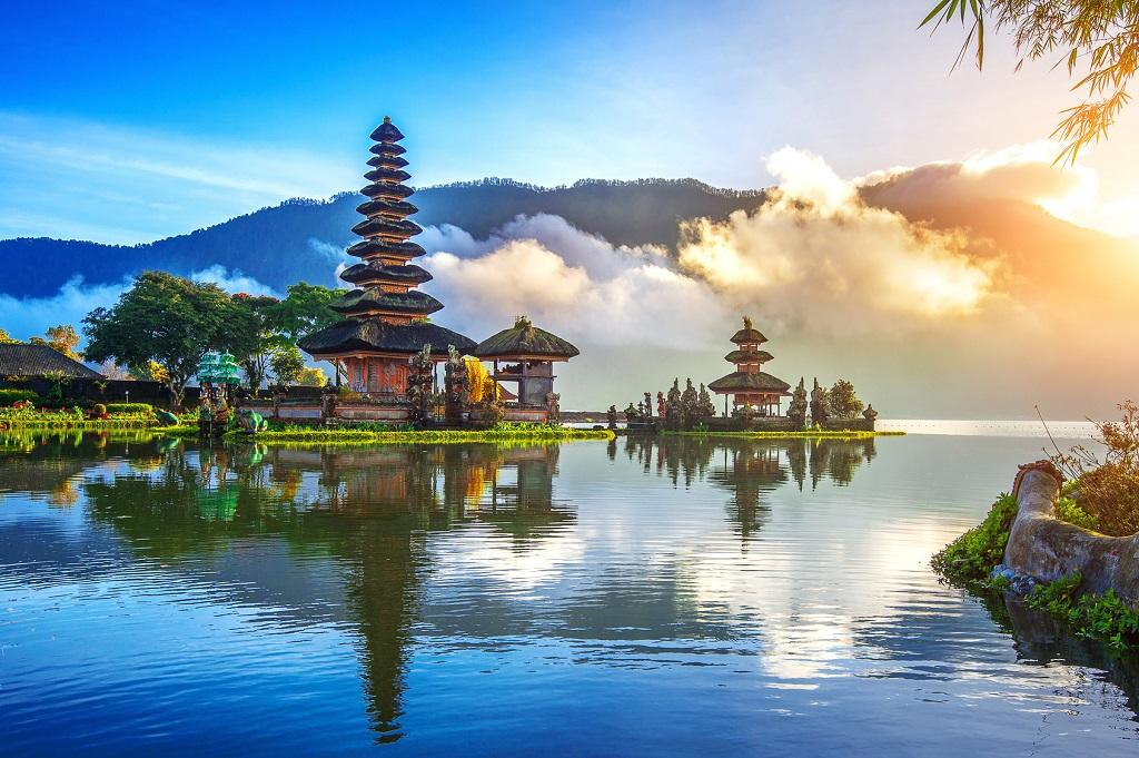 pura ulun danu bratan - tempel - bali - indonesia - ticket