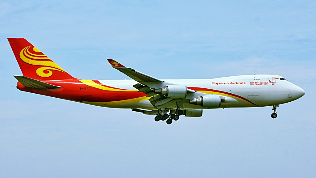 Boeing 747-400F - Suparna Airlines - Kina
