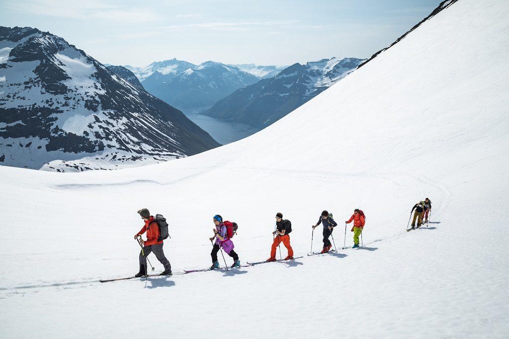 Christian Radich - Ski og seil - Fri flyt - Sunnmøre 2019