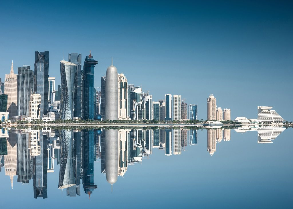 Skyline - Doha - Qatar- TUI Norge
