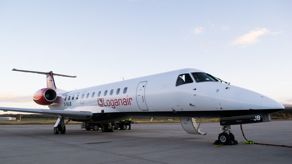 Loganair  - Embraer ERJ 135 - Bergen Flesland