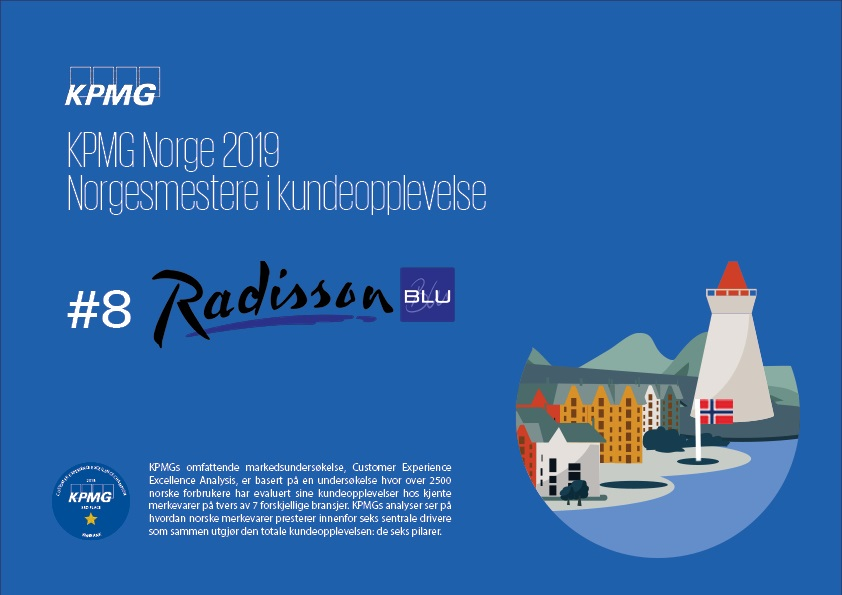 Radisson Blu -  KPMGs årlige markedsundersøkelse - 2019