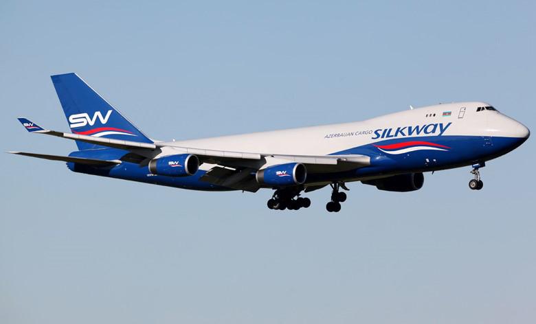 Silkway Airlines - Baku - Aserbajdsjan - Boeing 747-400F - Fraktfly