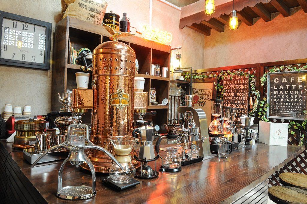 Dubai Coffee Museum - Kaffemuseum - - UAE