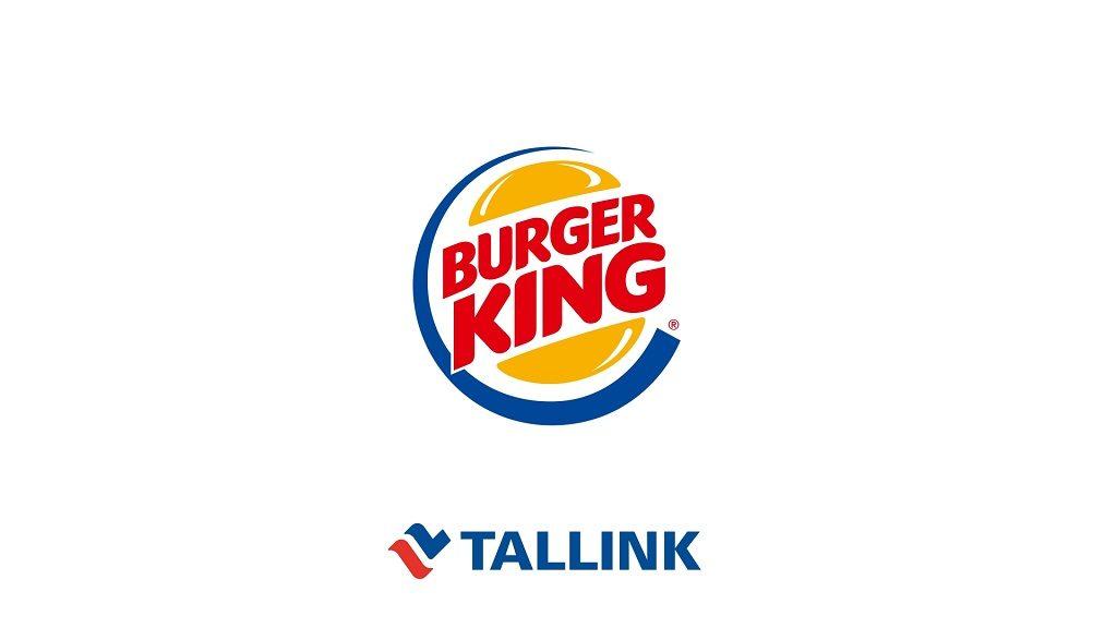 Tallink och Burger King - Logoer - Baltikum - Hurtigmat