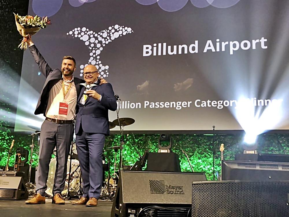 VM -flyplasser - ruteutvikling - Billund - 2019