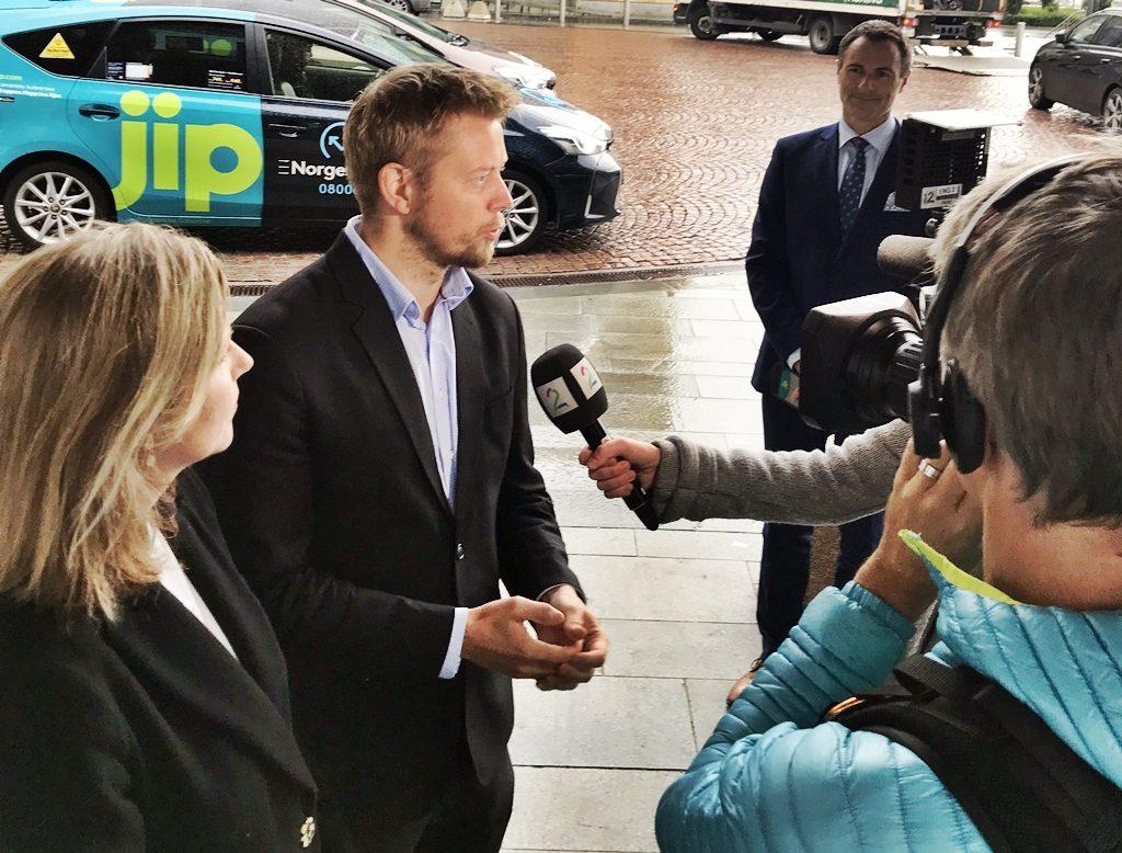 Norgestaxi - Lansering JIP app - 2019