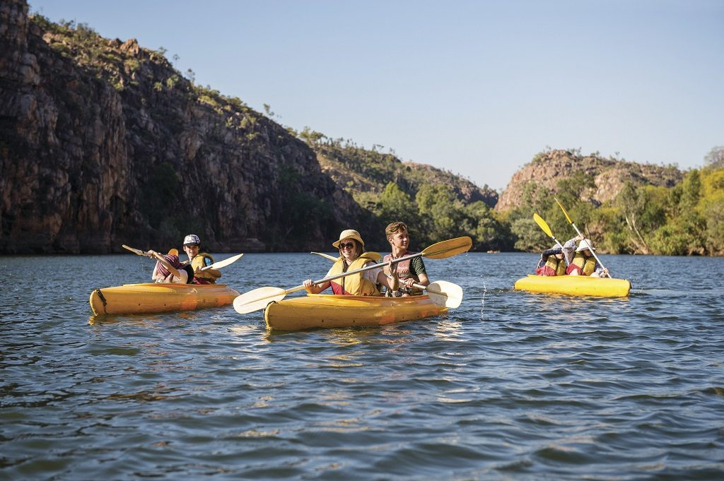 Katherine Gorge- Nitmiluk National Park - Økoturisme - Australia - Australiareiser