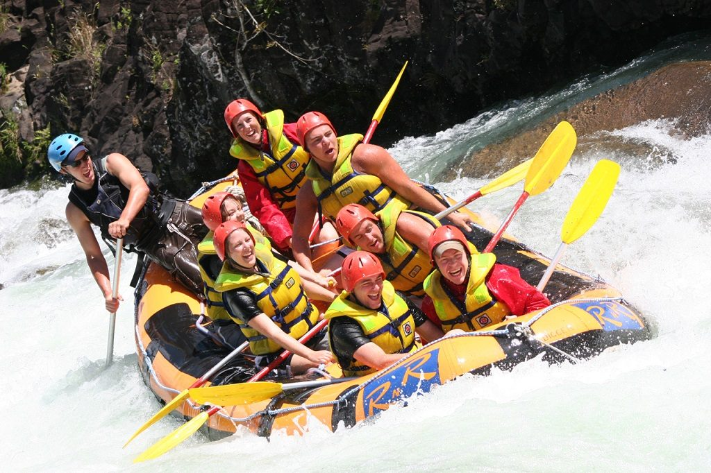 Rafting Tully River - Queensland - Australia - Australiareiser