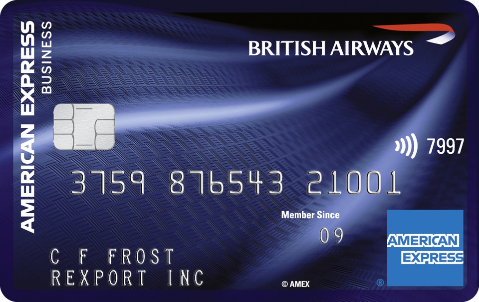 2019 - British Airways American Express® Accelerating Business Card