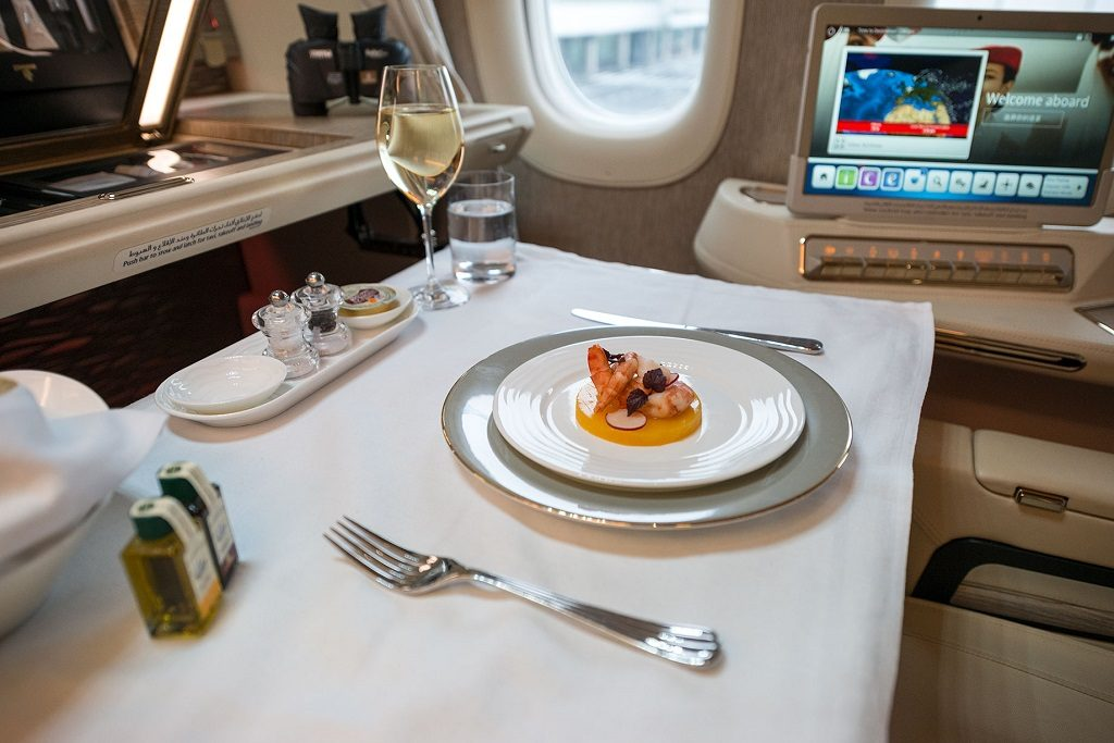 Emirates - First Class - Suite - Boeing 777-300ER