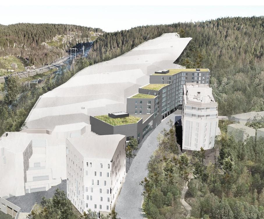SNØ - innendørsarena - Snøporten - Lørenskog