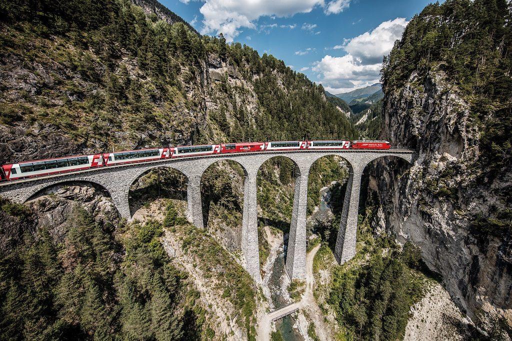 Sveits - jernbane