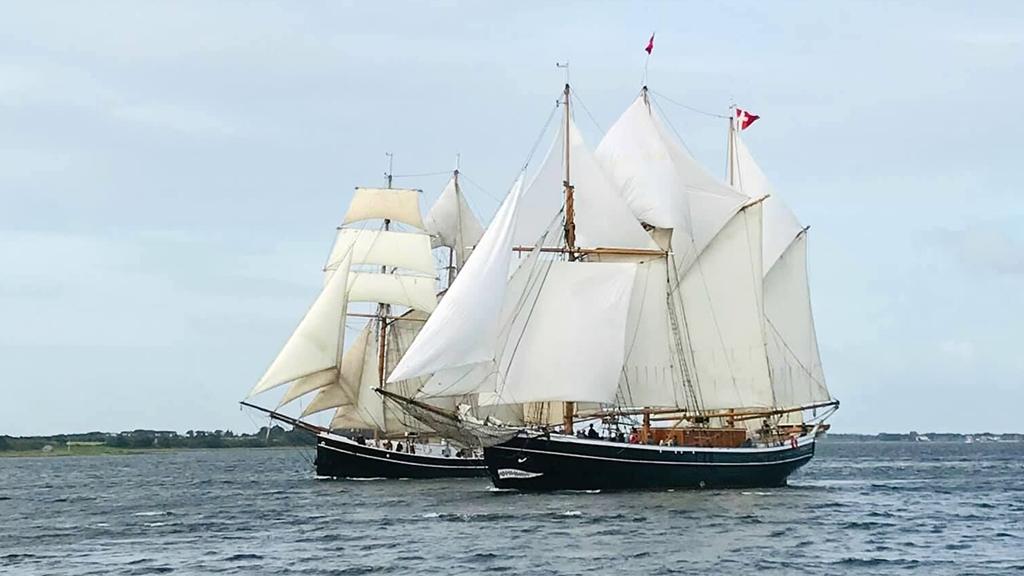 Skonnerten Fylla - Ærø - Danmark