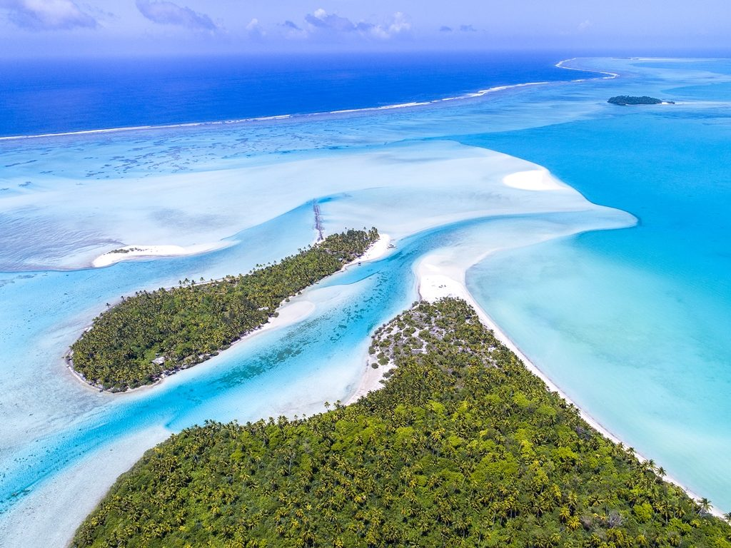 Cook Island - Sydhavsøyer - Stillehavet - Aitutaki