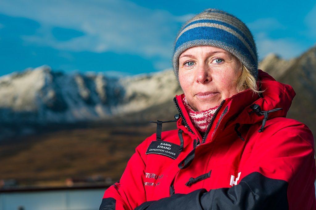 Karin Strand - Gudmor - Hurtigruten