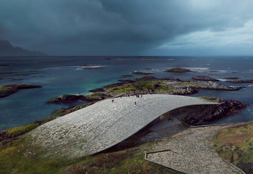 The Whale - Andenes - Arkitektforslag - oktober 2019