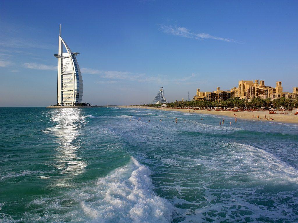 Dubai Beach - Emiratene - Strand - Hotell