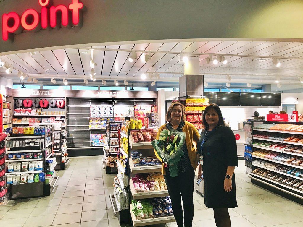 Avinor Bodø lufthavn - Point kiosk - passasjerterminal