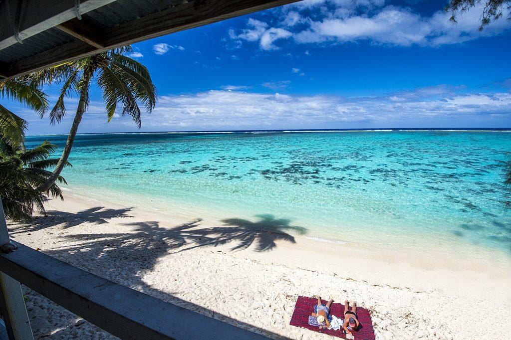 Cook Island - Sydhavsøyer - Stillehavet - Strand - Par