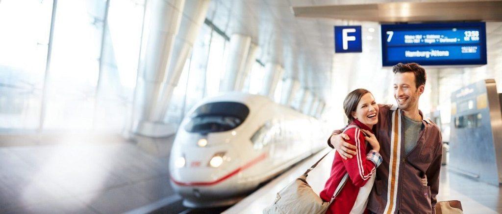 Lufthansa Express Rail - Tyskland  - Deutsche Bahn